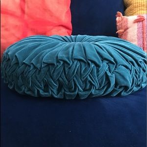 Velvet Throw Pillow- Pleated Round *Opalhouse*